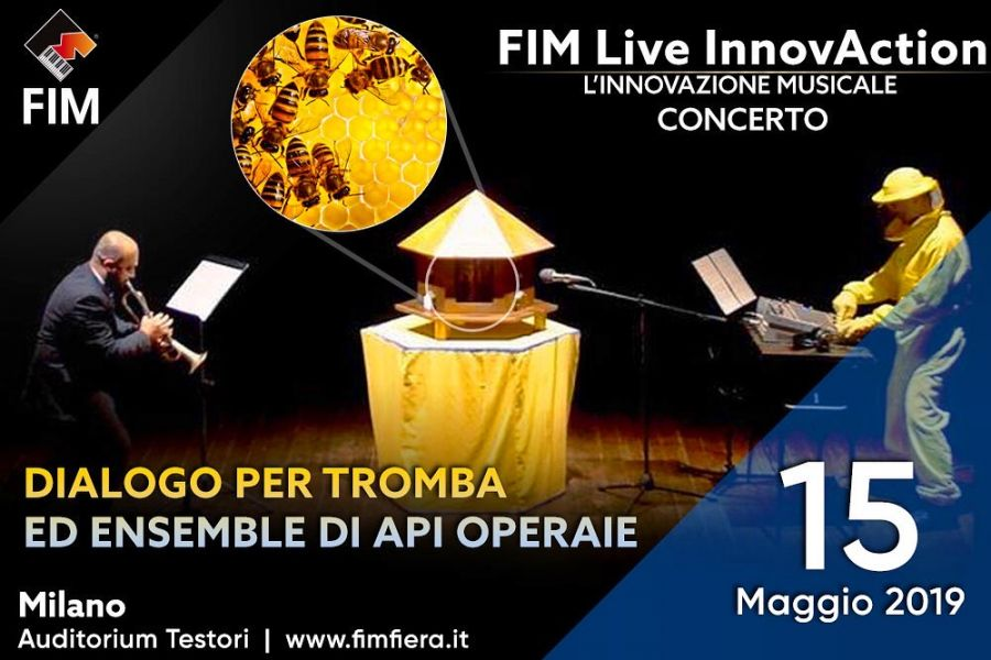 "ARNIA ""dialogue for trumpet and ensemble of worker bees"" live for FIM Live InnovAction INAUGURAL EVENING!"