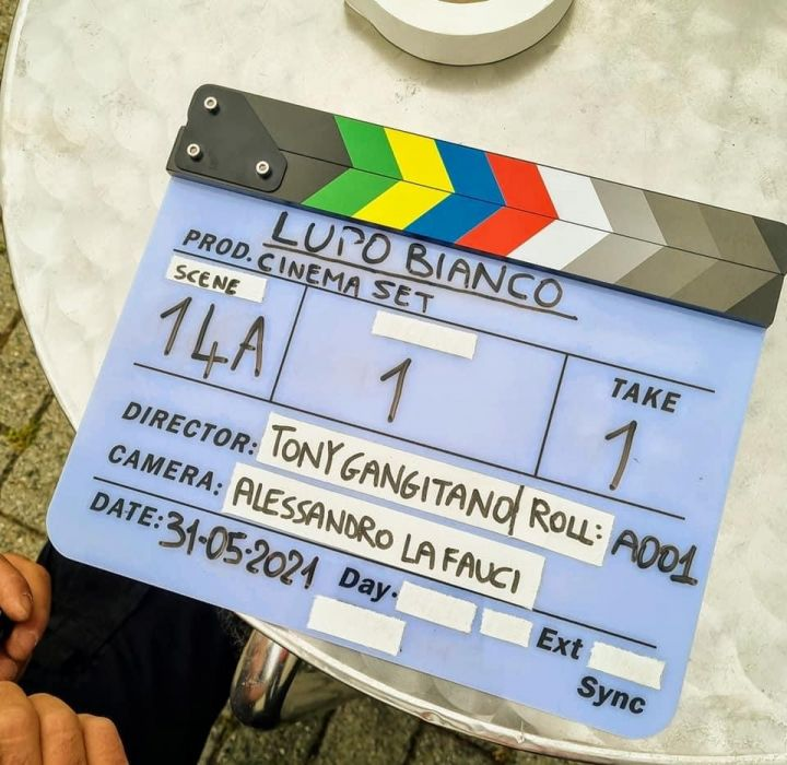"""First ciak for """"Lupo Bianco"""" the movie"""