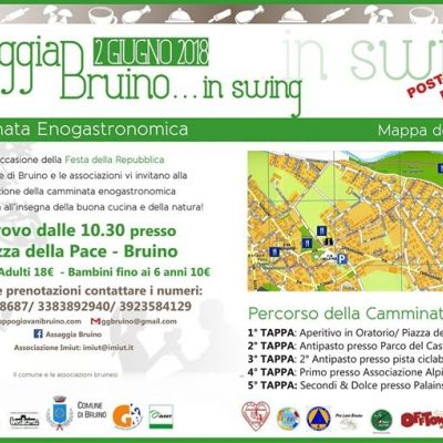 A-T-pic Ensemble ad assaggia Bruino in swing