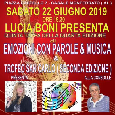 Song Contest in Casale M.to (AL)