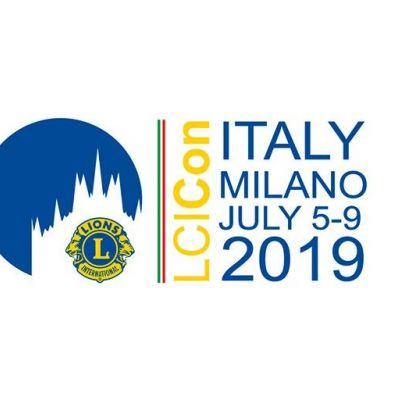 Lions international convention - Milan 2019