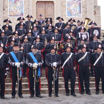"Fanfare ""Ten. Gianantonio Donato"" in concert at Castle of Piea d'Asti"