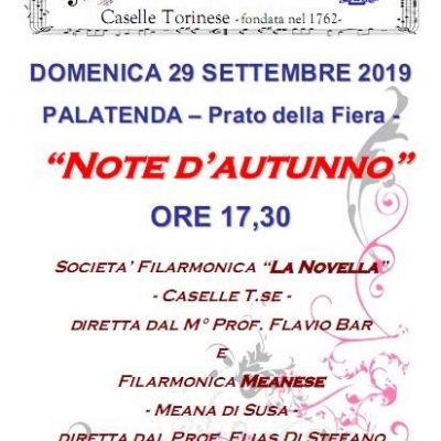 """Note d'autunno"" at Caselle Torinese"