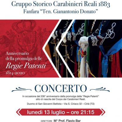 206th Anniversary of the Foundation of the Royal Carabinieri Corps
