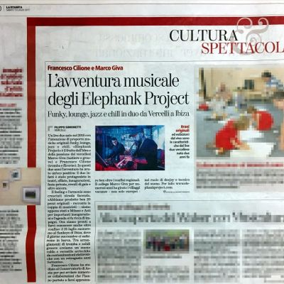 LASTAMPA - July 15, 2017 - Elephank Project live at Ibiza