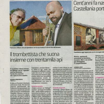 La Stampa - Interview by F. Simonetti (28 Feb 2019)