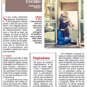 """La Stampa"" - Nov 11, 2016 - Live ""on the phone box"""