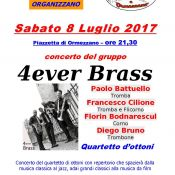 4ever Brass - Concert in Valle Mosso (BI) - July 8, 2017