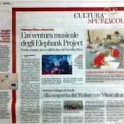 """La Stampa"" - July 15, 2017 - Elephank Project live at IBIZA"