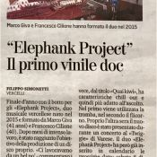 LASTAMPA - DEC 2, 2018 - Elephank Project - First Vinyl